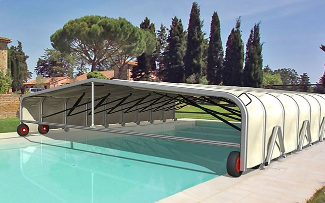 Catalogo carpas plegables alucisol for Toldos para piscinas