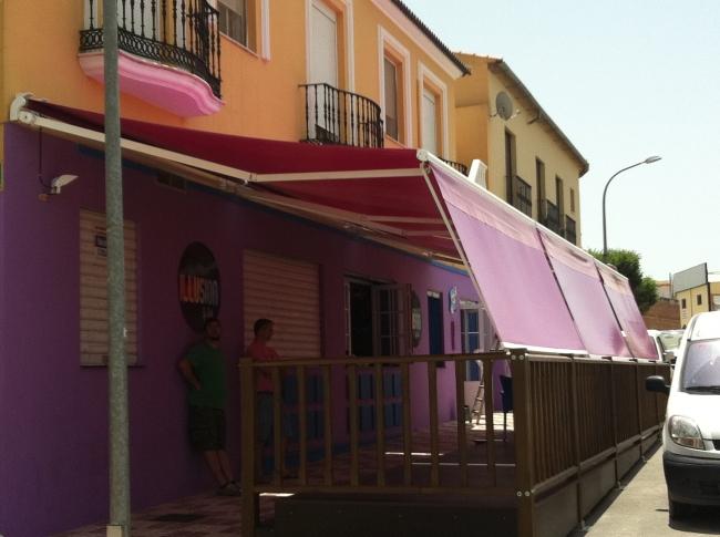 Carpas plegables personalizadas alucisol - Toldos terrazas bares ...