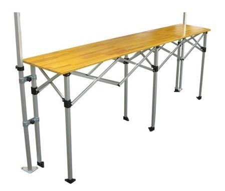 Catalogo carpas plegables alucisol for Mesa plegable aluminio