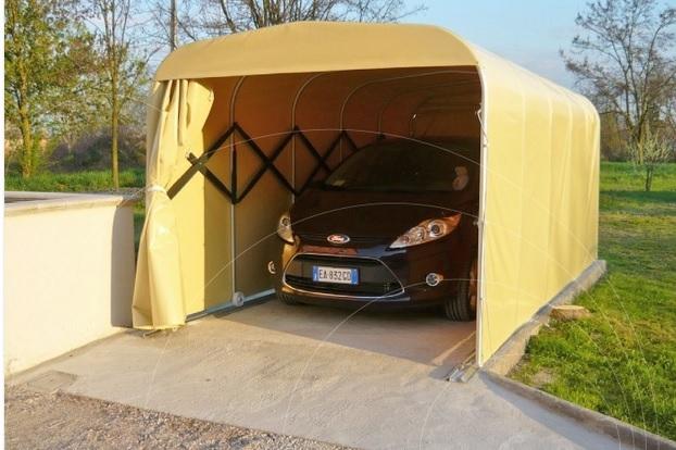Garaje portatil para coche gallery of with garaje for Garaje portatil